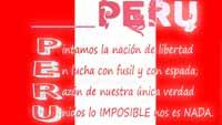 Acróstico para mi Perú