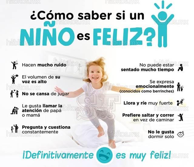 Características de un niño feliz