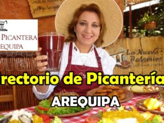 directorio de picanterias de Arequipa