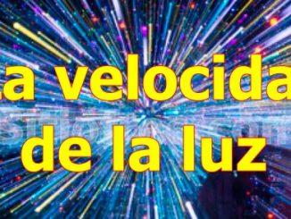 Velocidad de la luz